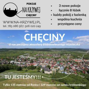"""Swietokrzyskie noclegi - Pokoje """"Na Krzywej"""" w Checinach - www.na-krzywej.pl"""