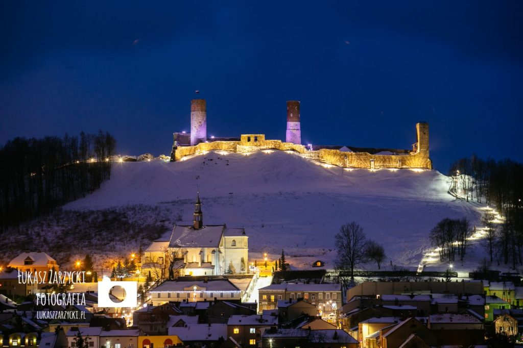 Zamek krolewski w Checinach